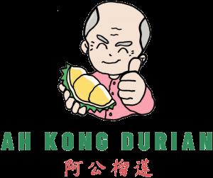 Ah Kong Durian - landing logo